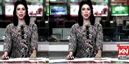 Transgender newscaster appears on television - a first in Pakistan