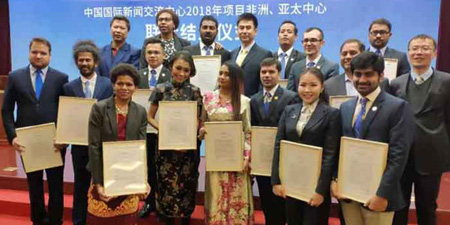 Two Pakistani journalists complete 10-month training in Beijing