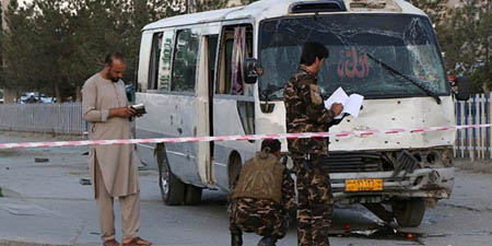 Two passersby killed, three staffers of TV channel injured in Afghanistan blast