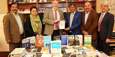 US Embassy gifts journalism books to National Press Club