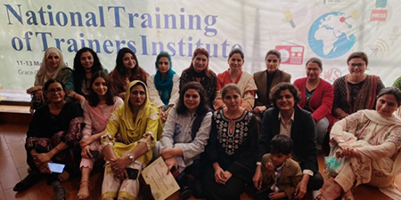 Women journalists demand 33 percent representation in PFUJ and other bodies