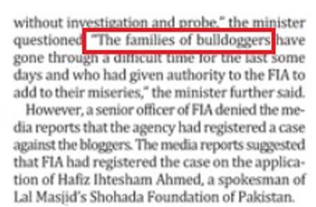 Bulldoggers! ...read bloggers