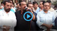 Journalists protest outside Nawa-i-Waqt Lahore