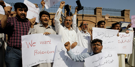 Government agitated over IFJ ranking Pakistan as dangerous place for journalists