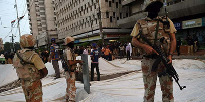 One killed, several injured in attack on ARY News office in Karachi