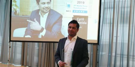Cyril Almeida of Dawn gets World Press Freedom Hero Award