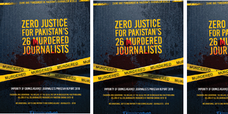 Freedom Network report reveals how Pakistan's legal system has failed the murdered journalists