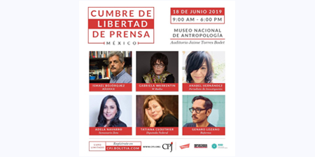 Press freedom in Mexico takes center stage at CPJ summit