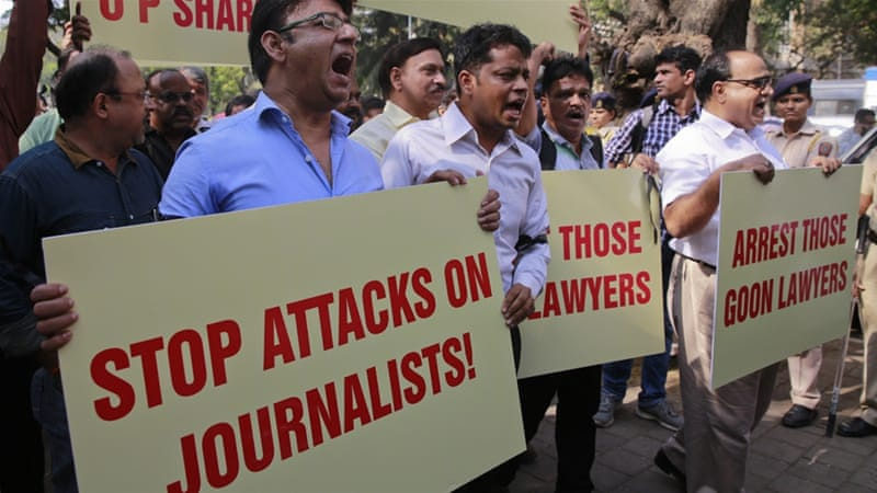 RSF alarmed over deterioration of press freedom in India